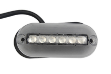 1Pcs 6LED Underwater Fishing Light 12V Marine Boat Night Landscape Lighting Accessory