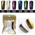 1g 3g 5g MIRROR POWDER NAILS Holographic Nail Powder Chrome Nail Polish Nail Art Glitter Reflecting Pigment Glitters Manicure