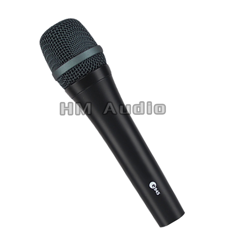 Free Shipping! Top Quality 945 Professional Karaoke Dynamic Super Cardioid Vocal Wired Microphone Microfone Microfono