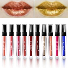 Vloeibare Metallic lipgloss Make