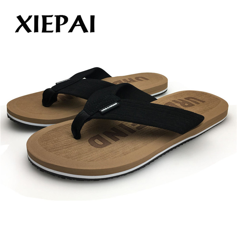 Image 5 - 2019  Beach / House Slippers Men Fashion Flip Flops Size 41 46 Designer Man Casual Summer Shoes-in Flip Flops from Shoes