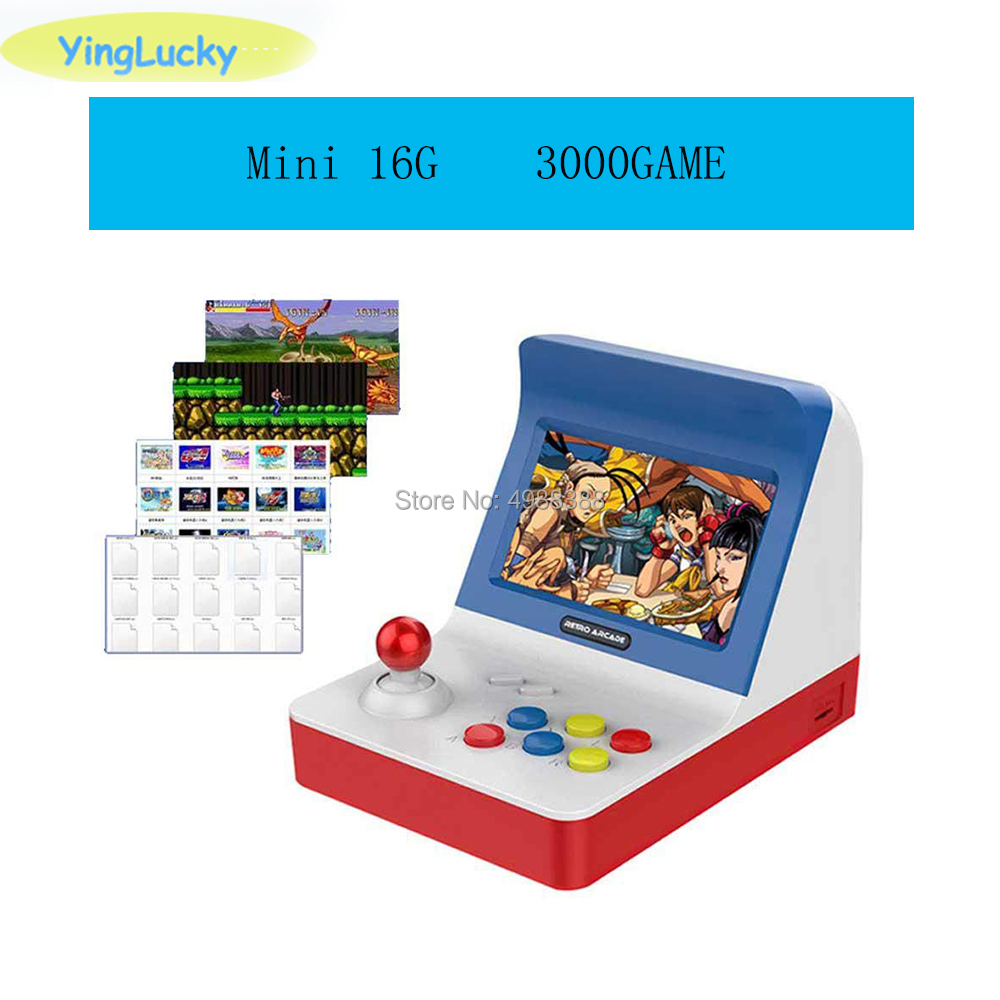 Newest Portable Retro Mini Handheld Game Console 4.3 Inch 64bit 3000 Video Games classical Family Game Console Gift RETRO ARCADE