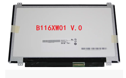 B116XW01 V.0  11.6 inch Laptop LCD screen, free delivery lp125wh2 slt2 12 5 inch notebook lcd screen free delivery