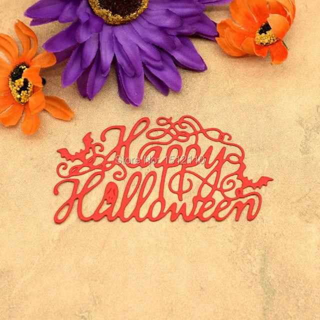 happy halloween metal die cutting dies for scrapbook diy album card paper card stencil paper dies