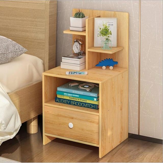 Modern Bedroom Side Cabinet muebles de dormitorio Nordic Wooden ...