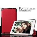 Para Acer Iconia 8 B1-820 8 pulgadas Custer voltaje delgado de cuero PU plegable soporte funda envío gratis