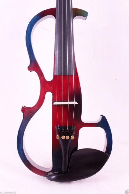 Fishion Electric Violin Left Hand Powerful Sound Reverberation 4/4 Yinfente Profession 3
