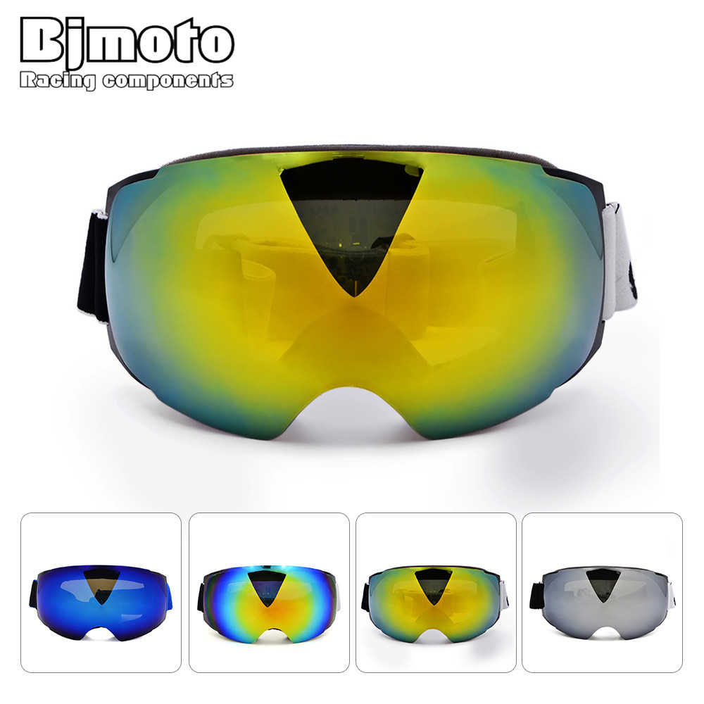 Mg-025 лыжные очки двойной анти-туман Лыжный Спорт Очки зимние спортивные лыжные прозрачные линзы Альпинизм зеркало снегоход goggle