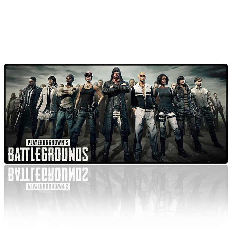 Large Size Playerunknowns Battlegrounds Map Gaming Mouse Pad Overlock Edge Anti-slip Laptop Gamer Mat Best Gift for Boy Friend