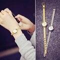 1 шт. женщины часы платье смотреть Сплава пряжка цифровой Браслет Наручные Часы круглый мода повседневная X3