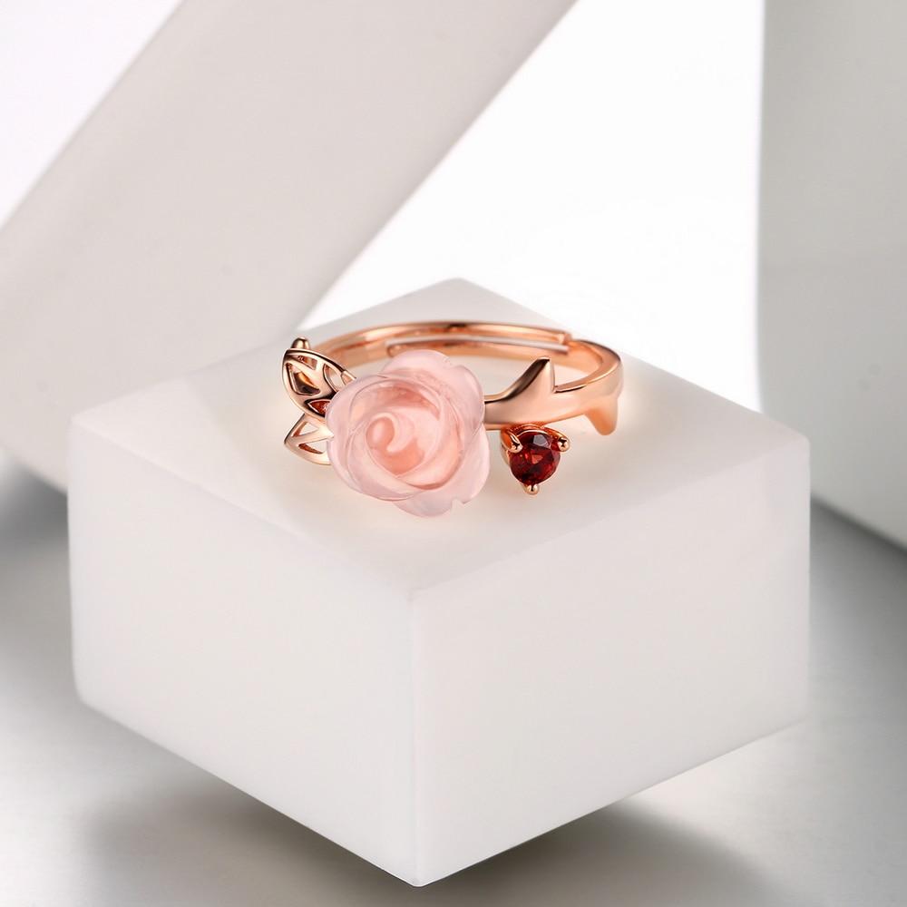 MoBuy MBRI025 Ειδική ροζ λουλούδι φυσικό - Κοσμήματα - Φωτογραφία 5