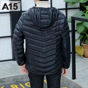 Image 3 - A15 Children Clothing Boys Winter Jacket 2019 Brand Hooded Kids Girls Winter Coat Long Sleeve Warm Parka Outwears Big 10 12 Year