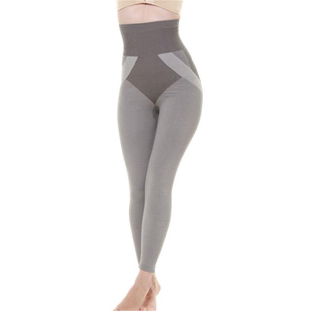 Envío libre para mujer sliming bamboo underwear bum fajas body shaper invierno/otoño para mujer leggings (largo)