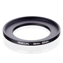 Originale RISE (UK) 39 millimetri 52 millimetri 39 52 millimetri 39 a 52 Step Up Anello Adattatore Filtro nero