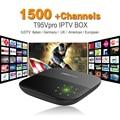 Octa Core Android Arab IPTV BOX T95VPRO Free 1500 Europe Arabic IPTV Channels S912 2GB/16GB TV Box KODI WIFI H265 Media Player