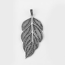 2pcs Antique Silver Large Holoow Open Leaf Charms Pendant For Necklace Jewelry Making Materiral 95*48mm