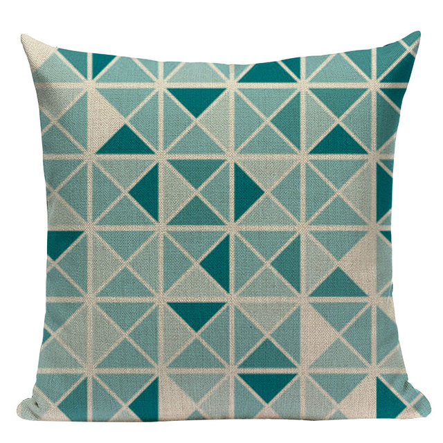 Nordic Pop Geometric Pillowcase Size: L313 Color: L313-16