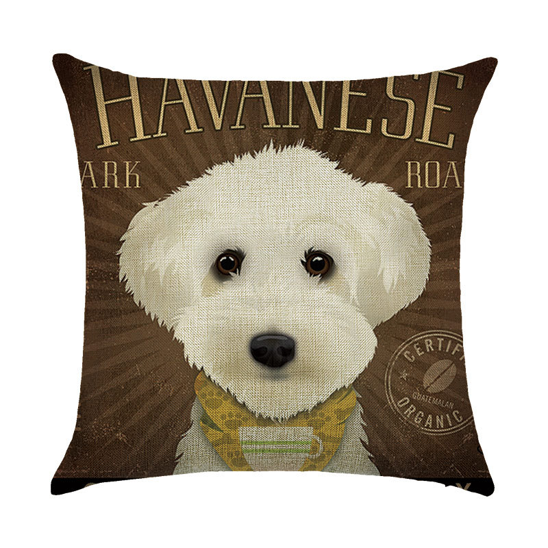 Animal Cushion Cute Dog children Decorative Cushion Cover for Sofa Throw Pillow Car Chair Home Decor Pillow Case Almofada