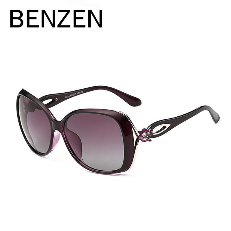 BENZEN Sonnenbrille Frauen Polarisierte Weibliche Sonnenbrille Für - Bekleidungszubehör - Foto 4