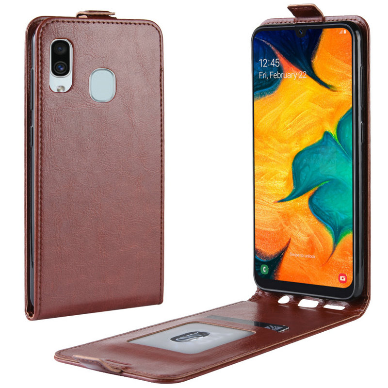 Retro Leather Cover <font><b>case</b></font> for <font><b>Samsung</b></font> Galaxy A30 A305FD A20 A40 for <font><b>Samsung</b></font> Galaxy A50 <font><b>A10</b></font> Wallet <font><b>flip</b></font> leather <font><b>cases</b></font> coque fundas image