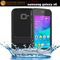 Original Para Samsung Galaxy s6 caso ip68 à prova de Choque Sujeira Água cobrir para Galaxy s 6 G9200 G920f G920i saco à prova d' água com stand
