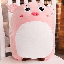 40 Cm Lembut Kawaii CINTA Babi Mewah Bantal Boneka Hewan Lucu Bantal Hangat  Babi Mainan Boneka Hadiah Ulang Tahun Anak-anak 2923ee7c6f