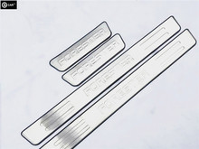 stainless steel welcome pedal for 09/10/11/12/13 forester threshold trim exterior door sill strip decoration protect cover stick