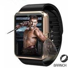Freies verschiffen wearable geräte tragen bluetooth smartwatch smart watch gt 08 mit sim smartwatch für i0s & android pk dz09 gt08 gv18