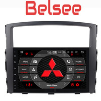 Belsee Восьмиядерный PX5 4G + 32 ГБ 2 Din Android 8,0 автомобилей Радио мультимедийный плеер gps Navi HD для Mitsubishi Pajero V97 V93 2006 2015