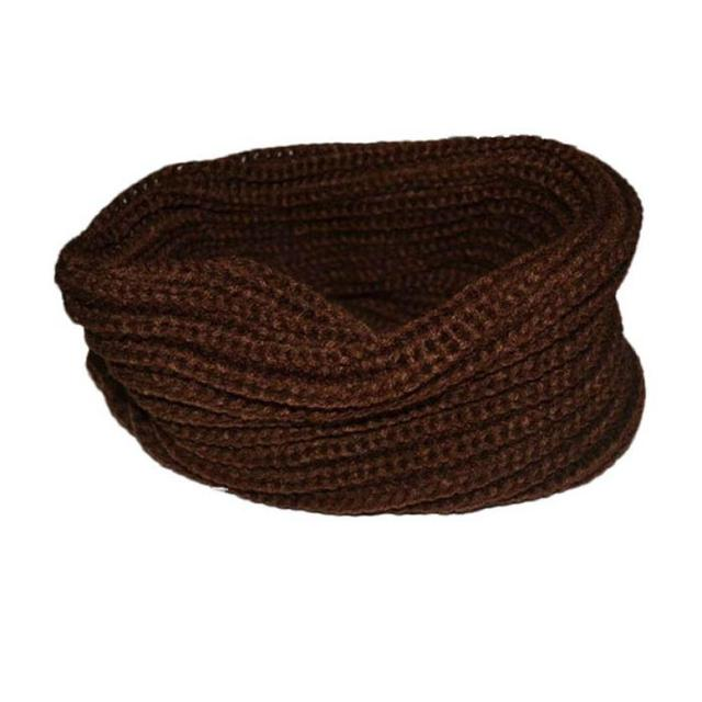 Wool Blend Knitted Scarf