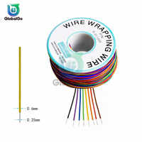 B-30-1000 UL1423 UL1422 Colored 24AWG 26AWG 28AWG 30AWG Wire Wrapping Wire 0.25mm Tinned Copper Solid PVC Cable Jumper