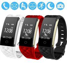 S2 IP67 Водонепроницаемый Умный Браслет Браслет Браслет С Heart Rate Monitor Bluetooth Фитнес-Трекер Для iPhone Xiaomi Huawei