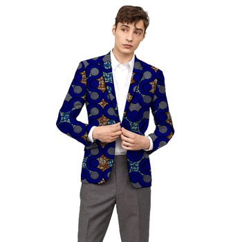 Custom dashiki print Men blazers formal suit jacket for African party/wedding man's Ankara outfit fashion casual blazer coat kid casual blazers suit for baby boy black child coat fashion children jacket costume for boy blue graduation suit h006