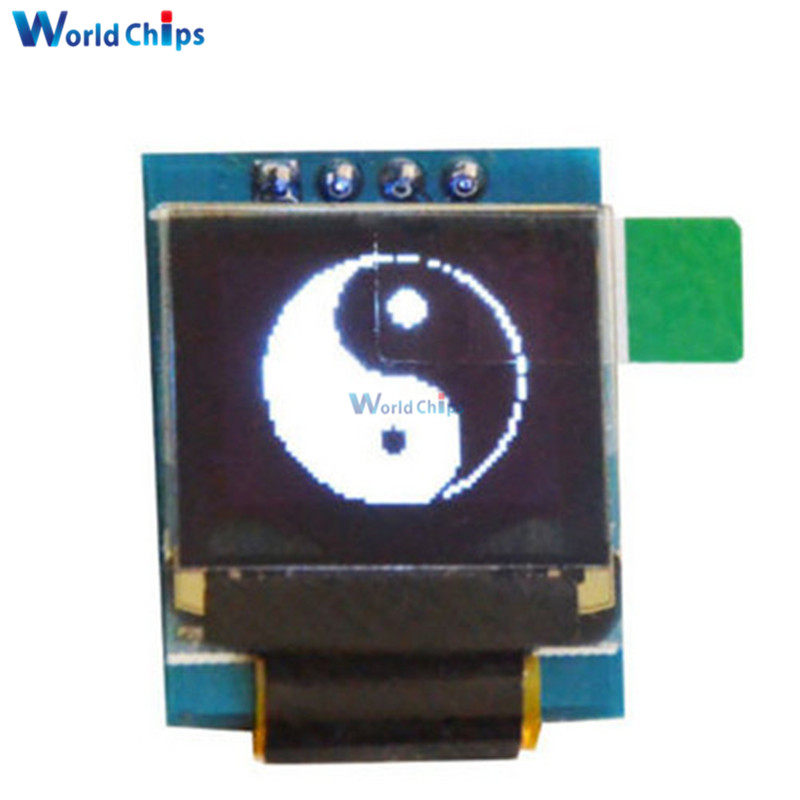 White 0.66 Inch OLED Display Module 64x48 0.66