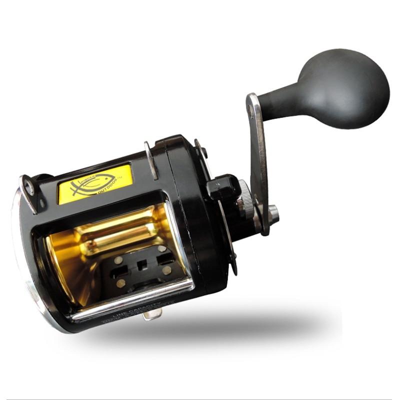 SEWS SHUANGYU RAMPART Fishing Reel 8 Stainless Steel Ball Bearings Boat Drum Casting Fishing Reels Super