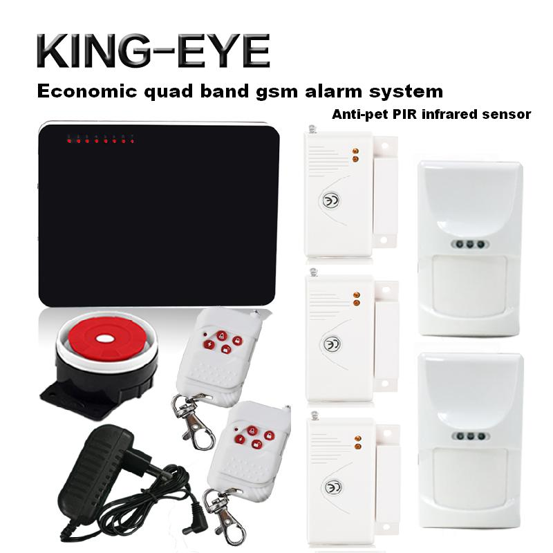 433 mhz wireless gsm alarm security system kit home alarm 6 wireless and 4 wired zones with pet friendly PIR motion sensor wireless pager system 433 92mhz wireless restaurant table buzzer with monitor and watch receiver 3 display 42 call button