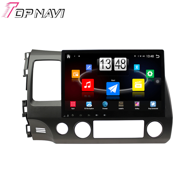 10.1 ''Quad Core Android 4.4 PC Del Coche GPS Para Civic 2006 2007 2008 2009 2010 2011 para honda con radio estéreo de audio sin dvd