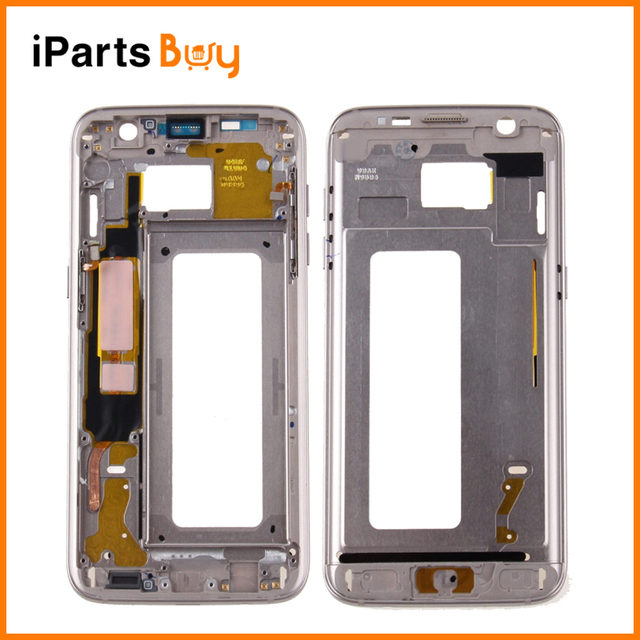 iPartsBuy for Samsung Galaxy S7 Edge / G935 Front Housing LCD Frame Bezel Plate
