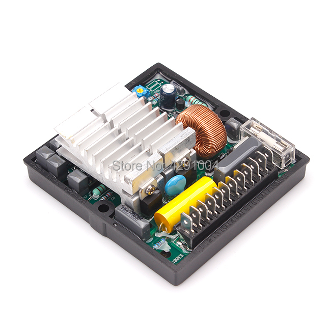 Match Mecc Alte AC Brushless Generator AVR SR7 For 2.5kw Generator match brush and brushless generator parts pow50a