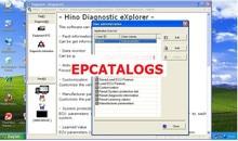 Hino Diagnóstico eXplorer & Reprog Gerente 3.1.6 + keygen