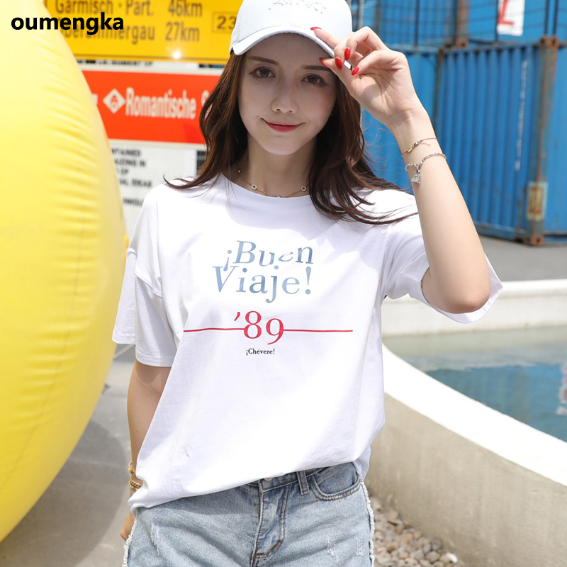 New White T shirt Women Tshirt Pink Cotton Summer T-Shirt Women Tops Kawaii Black Tee Shirt Femme Camiseta Mujer 2019 S-3XL