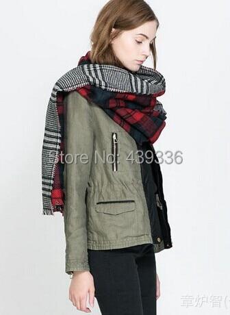Blanket font b Tartan b font Winter Scarf