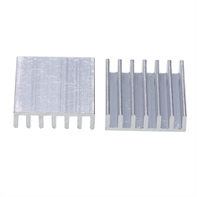 10pcs Heat Sink Aluminum Heatsink Radiator Cooler 20mm*20mm*6mm For Power Transistor IC MOSFET SCR Mayitr 10pcs lot bsc59n03s 59n03s n channel si power mosfet