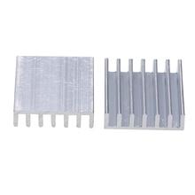 купить 10pcs Heat Sink Aluminum Heatsink Radiator Cooler 20mm*20mm*6mm For Power Transistor IC MOSFET SCR Mayitr по цене 69.04 рублей