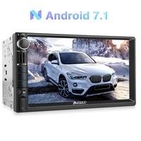 Pumpkin 2 Din 7 Android 7 1 Universal Car Radio No DVD Player GPS Navigation Bluetooth