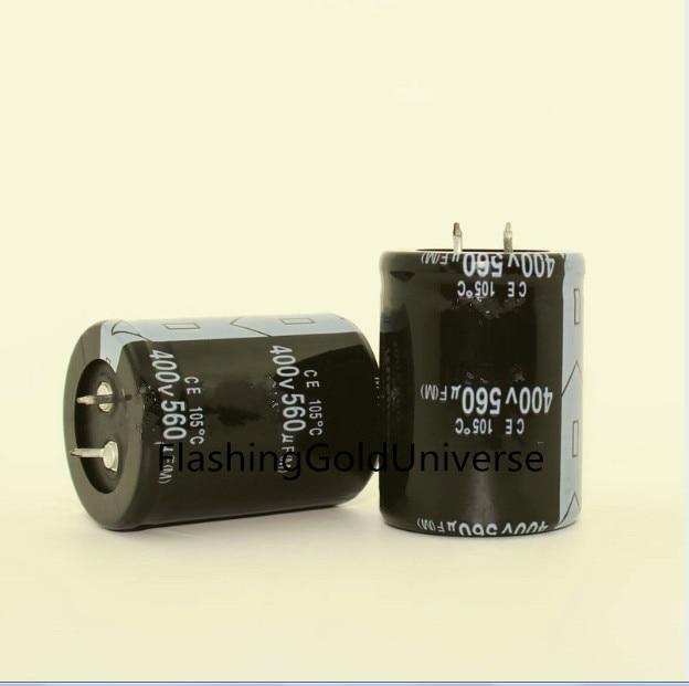 12PCS-2PCS 400V 560UF 560UF 400V 400V560UF Electrolytic Capacitor  Volume 30*50MM 35*50MM Best Quality