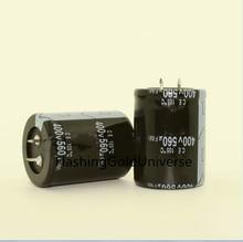 20 adet 2 adet 400V560UF 560UF 400V elektrolitik kondansatör hacim 35*50MM için en iyi kalite