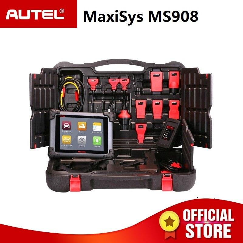 Autel MaxiSys MS908 OBD2 Automotive Scanner ECU Tester Collegare J2534 come Maxisys PRO MS908P OBDII Auto Diagnostica STRUMENTO di Programmazione