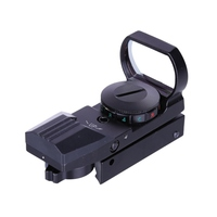 JH400 Red change sight four point 11mm Holographic Laser Red/Green 4 Reticle Dot Sight Projected Reflex Scope For