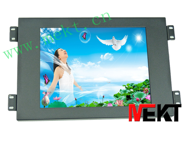 8.4 inch touch screen LED LCD monitor (HDMI, VGA input) industrial touch monitor